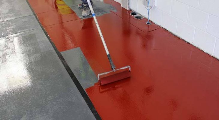 Two-Part Epoxy Floor System With EpoxyPRO