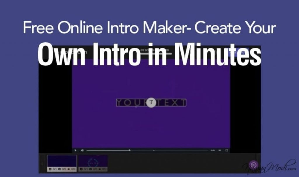 Free YouTube Video Intro Makers